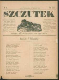 Szczutek : pisemko humorystyczne. R. 23, nr 45 (1891)