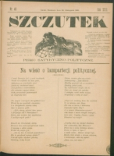 Szczutek : pisemko humorystyczne. R. 23, nr 46 (1891)