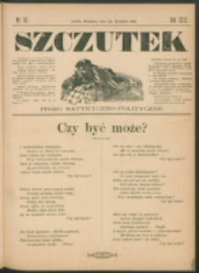Szczutek : pisemko humorystyczne. R. 23, nr 50 (1891)