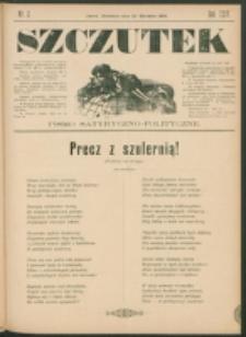 Szczutek : pisemko humorystyczne. R. 24, nr 2 (1892)
