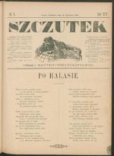 Szczutek : pisemko humorystyczne. R. 24, nr 5 (1892)