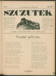 Szczutek : pisemko humorystyczne. R. 24, nr 8 (1892)