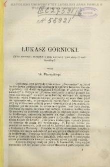 Łukasz Górnicki : (kilka nieznanych szczegółów z życia dzierżawcy tykocińskiego i wasilkowskiego) / przez St. Ptaszyckiego.