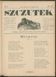 Szczutek : pisemko humorystyczne. R. 24, nr 13 (1892)