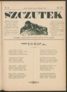 Szczutek : pisemko humorystyczne. R. 24, nr 14 (1892)