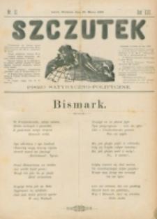 Szczutek : pisemko humorystyczne. R. 22, nr 12 (1890)