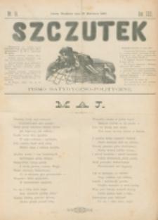 Szczutek : pisemko humorystyczne. R. 22, nr 16 (1890)