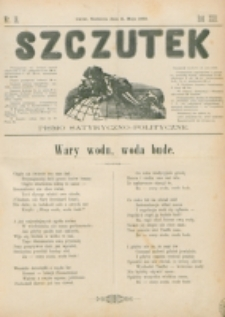 Szczutek : pisemko humorystyczne. R. 22, nr 18 (1890)