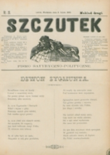 Szczutek : pisemko humorystyczne. R. 22, nr 26 (1890)