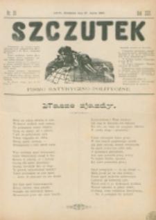 Szczutek : pisemko humorystyczne. R. 22, nr 29 (1890)