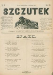 Szczutek : pisemko humorystyczne. R. 22, nr 32 (1890)