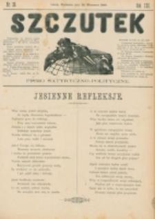 Szczutek : pisemko humorystyczne. R. 22, nr 38 (1890)