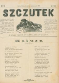 Szczutek : pisemko humorystyczne. R. 22, nr 39 (1890)