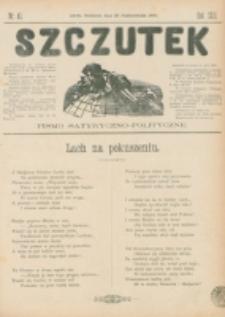 Szczutek : pisemko humorystyczne. R. 22, nr 41 (1890)