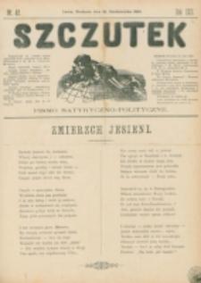 Szczutek : pisemko humorystyczne. R. 22, nr 42 (1890)