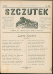 Szczutek : pisemko humorystyczne. R. 22, nr 46 (1890)