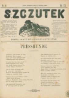 Szczutek : pisemko humorystyczne. R. 22, nr 49 (1890)