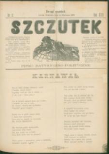 Szczutek : pisemko humorystyczne. R. 23, nr 2 (1891)