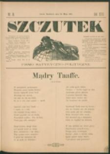 Szczutek : pisemko humorystyczne. R. 23, nr 18 (1891)