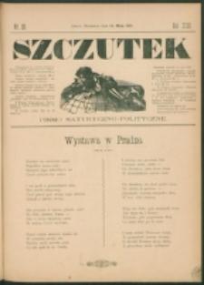 Szczutek : pisemko humorystyczne. R. 23, nr 20 (1891)