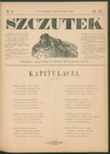 Szczutek : pisemko humorystyczne. R. 23, nr 23 (1891)
