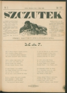 Szczutek : pisemko humorystyczne. R. 24, nr 17 (1892)