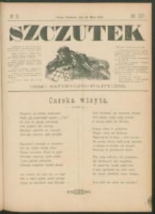 Szczutek : pisemko humorystyczne. R. 24, nr 19 (1892)