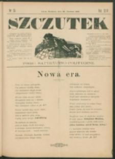 Szczutek : pisemko humorystyczne. R. 24, nr 24 (1892)