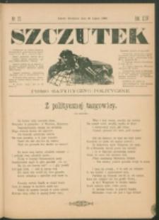Szczutek : pisemko humorystyczne. R. 24, nr 27 (1892)