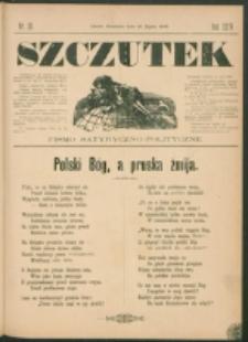 Szczutek : pisemko humorystyczne. R. 24, nr 26 (1892)
