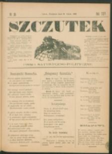 Szczutek : pisemko humorystyczne. R. 24, nr 28 (1892)