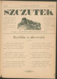 Szczutek : pisemko humorystyczne. R. 24, nr 31 (1892)