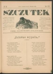 Szczutek : pisemko humorystyczne. R. 24, nr 34 (1892)