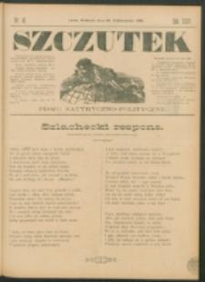 Szczutek : pisemko humorystyczne. R. 24, nr 41 (1892)