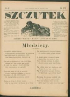 Szczutek : pisemko humorystyczne. R. 24, nr 46 (1892)