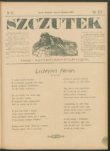 Szczutek : pisemko humorystyczne. R. 24, nr 45 (1892)