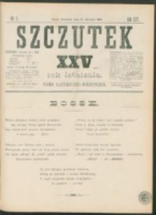 Szczutek : pisemko humorystyczne. R. 25, nr 3 (1893)