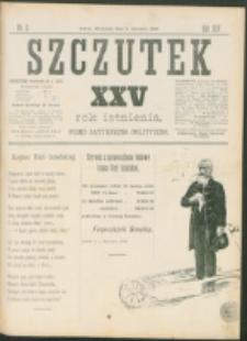 Szczutek : pisemko humorystyczne. R. 25, nr 2 (1893)