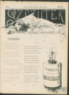 Szczutek : pisemko humorystyczne. R. 25, nr 4 (1893)