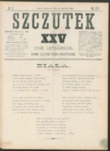 Szczutek : pisemko humorystyczne. R. 25, nr 5 (1893)