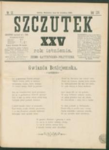 Szczutek : pisemko humorystyczne. R. 25, nr 52 (1893)