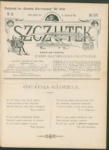Szczutek : pisemko humorystyczne. R. 26, nr 40 (1894)