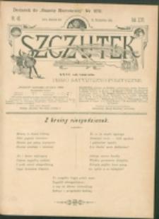 Szczutek : pisemko humorystyczne. R. 26, nr 42 (1894)