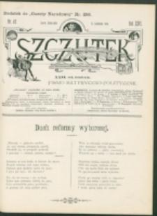 Szczutek : pisemko humorystyczne. R. 26, nr 45 (1894)