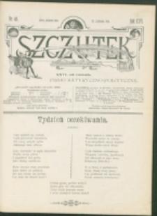 Szczutek : pisemko humorystyczne. R. 26, nr 46 (1894)