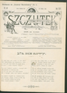 Szczutek : pisemko humorystyczne. R. 26, nr 49 (1894)