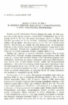 Edykt Cyrusa w Ezd 1 w świetle tekstów biblijnych i pozabiblijnych a myśl teologiczna kronikarza.