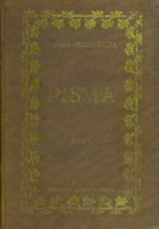 Adama Mickiewicza pisma. T. 1 / wydał, objaśnił, wstępami poprzedził Józef Kallenbach
