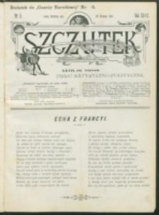 Szczutek : pisemko humorystyczne. R. 27, nr 2 (1895)