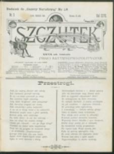 Szczutek : pisemko humorystyczne. R. 27, nr 3 (1895)